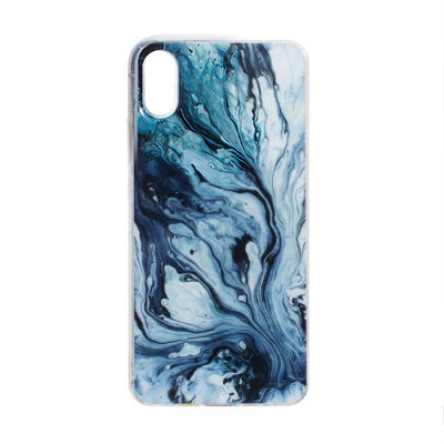 Чехол-накладка Marble Apple iPhone X / Xs (08)