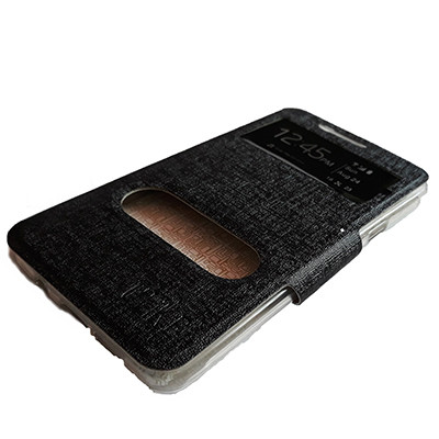 Чехол-книжка Ulike Two Windows Samsung A510 Galaxy A5 2016 -  Чёрный