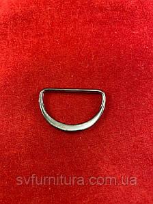 Металева перетяжка D 1 нікель 2.5 см