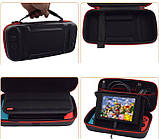 Комплект кейс EastVita + скло OIVO + чохол MIMD + накладки для Nintendo Switch, фото 5