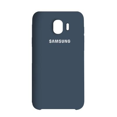 Чехол Original Soft Case Samsung J400 Galaxy J4 2018 Dark Blue (20)