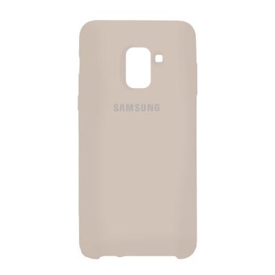 Чехол Original Soft Case Samsung A730 Galaxy A8 Plus 2018 Grey