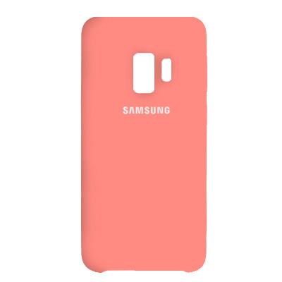 Чехол Original Soft Case Samsung G960 Galaxy S9 Pink (12)
