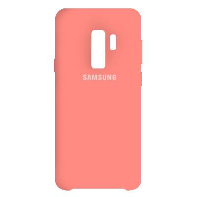 Чехол Original Soft Case Samsung G965 Galaxy S9 Plus Pink (12)