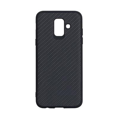 Чехол-накладка Carbon Samsung A600 Galaxy A6 2018 (Black)