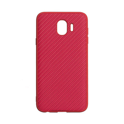 Чехол-накладка Carbon Samsung J400 Galaxy J4 2018 (Red)
