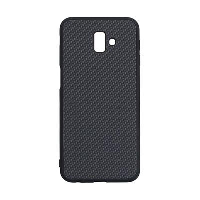 Чехол-накладка Carbon Samsung J610 Galaxy J6 Plus (Black)