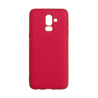 Чехол-накладка Carbon Samsung J810 Galaxy J8 2018 (Red)