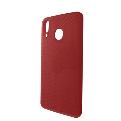 Чехол-накладка Carbon Samsung M205 Galaxy M20 (Red)