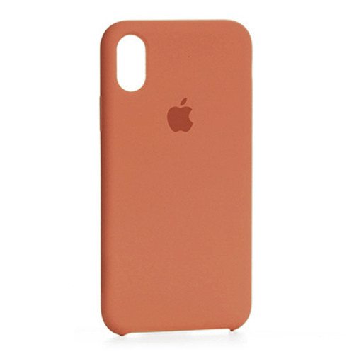 Чехол Original Soft Case iPhone X/XS (02) Orange