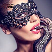 Кружевная маска на глаза для ролевых игр венецианская маскарадная