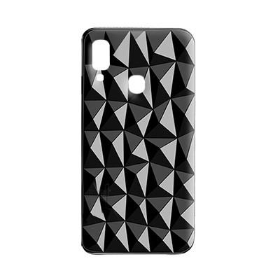 Силиконовый чехол Crystal Samsung M205 Galaxy M20 - Чёрный