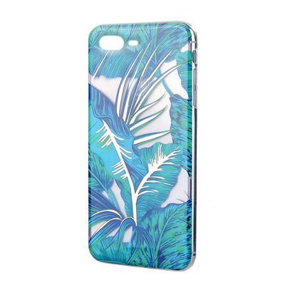 Силиконовый чехол Flowers Shine iPhone 7 Plus/8 Plus Jungle