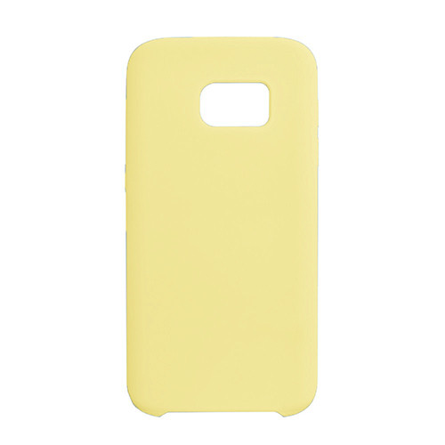 Чехол Original Soft Case Samsung G930 Galaxy S7 Yellow (4)