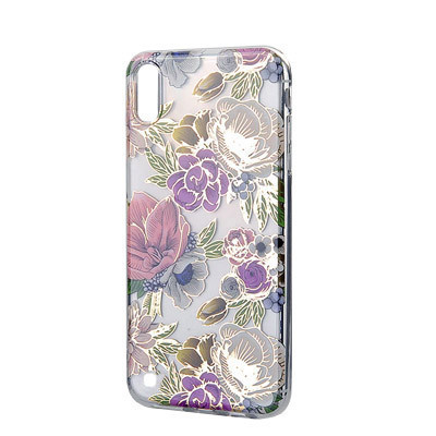 Силиконовый чехол Flowers Shine Samsung A105 Galaxy A10/M105  Galaxy M10 Rose