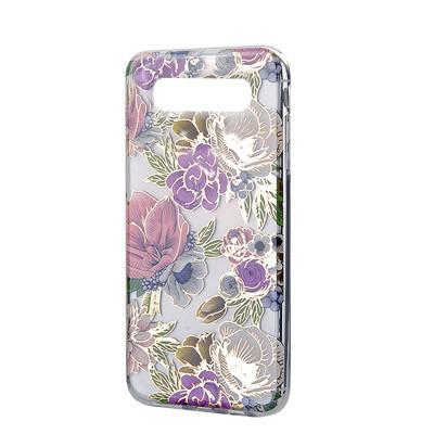 Силиконовый чехол Flowers Shine Samsung G975 Galaxy S10  Plus Rose