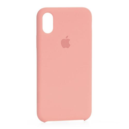 Чехол Original Soft Case iPhone XS Max (12) Pink