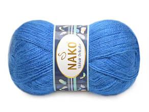 Nako Mohair Delicate, Синий №06121