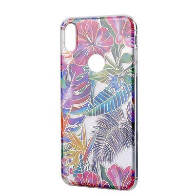 Силиконовый чехол Flowers Shine Samsung M205 Galaxy M20  Tropic