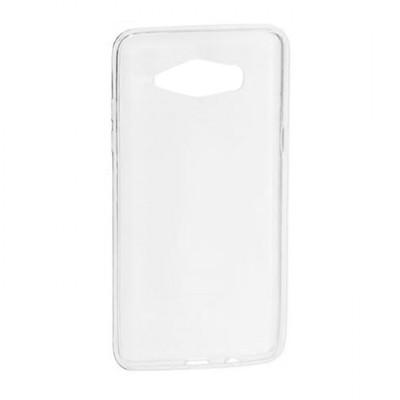 Силиконовый чехол Silicone Premium Samsung J110 Galaxy  J1 Ace (Прозрачный)