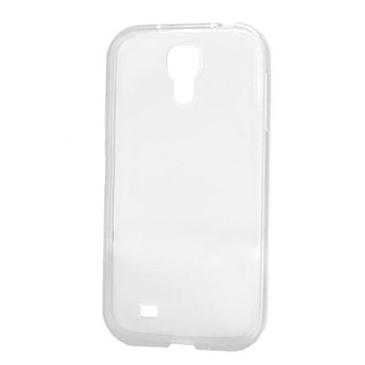 Силиконовый чехол Silicone Premium Samsung i9500 Galaxy  S4 (Прозрачный)