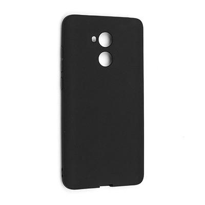 Силиконовый чехол SMTT Honor 6A (DLI-L42) (Черный)