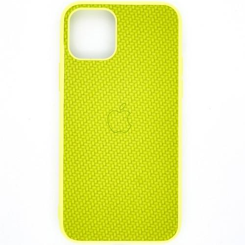 Чехол-накладка Carbon Apple iPhone 11 Pro Max (Light Green)