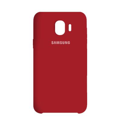 Чехол Original Soft Case Samsung J260 Galaxy J2 Core 2018 Red (14)