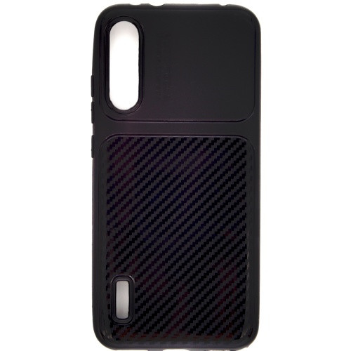 Силиконовый чехол Auto Focus Xiaomi Mi A3 (Black)