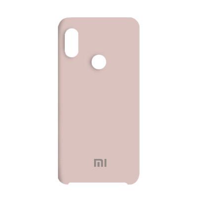 Чехол Original Soft Case Xiaomi Redmi Note 6 Pro Pink Sand (19)
