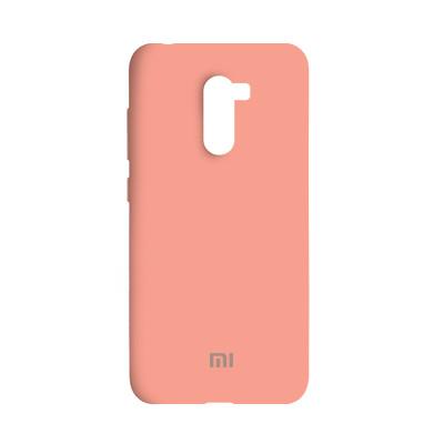 Чехол Original Soft Case Xiaomi Pocophone F1 Pink (12)
