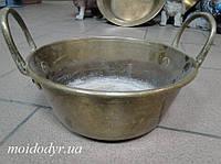 Латунная миска с кучками диаметром 240 мм
