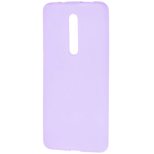 Силиконовый чехол Slim Soft Case Full Xiaomi Mi 9T (Lavender)