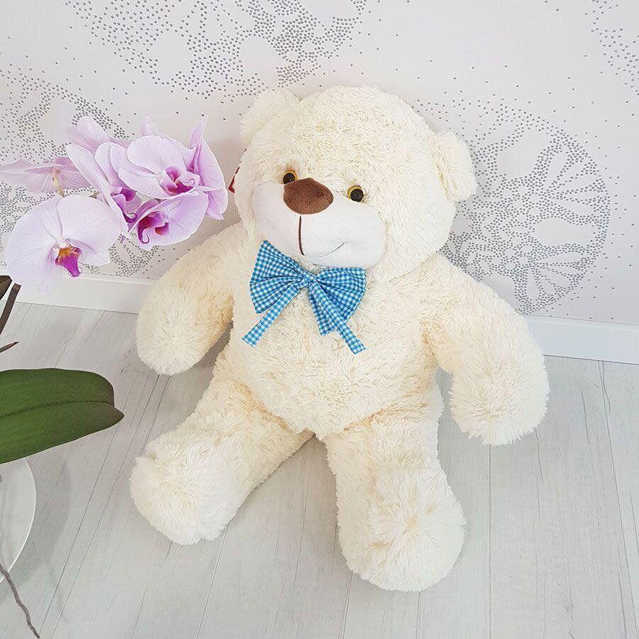 Мягкая игрушка Zolushka Медведь Бо 61 см молочный (5804)