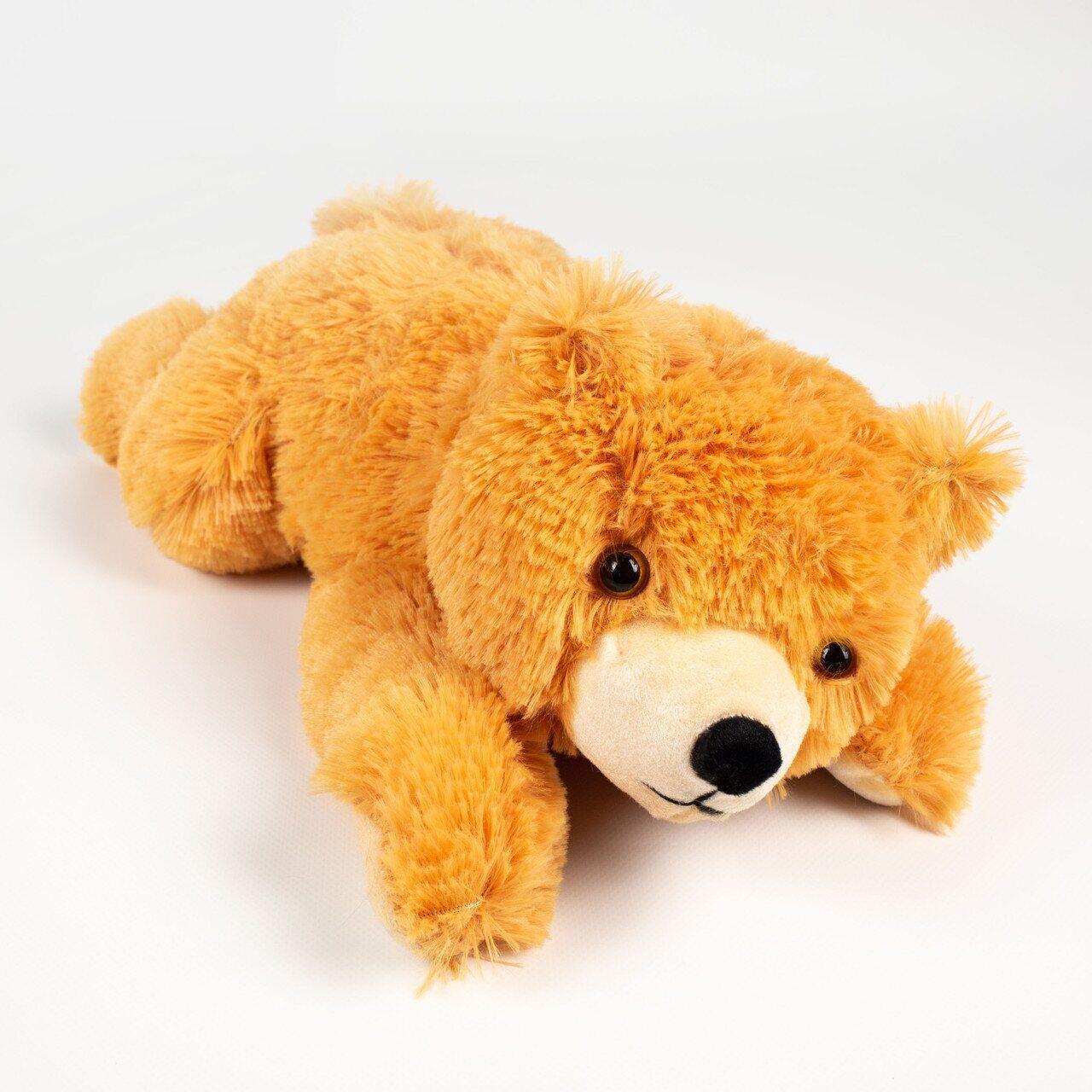Мягкая игрушка Zolushka Медведь Соня маленький 42см коричневый (0924)