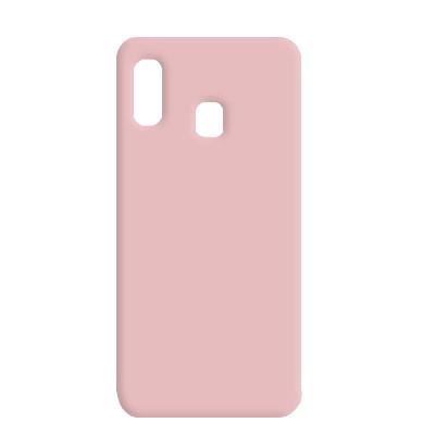 Силиконовый чехол SMTT Samsung A305 Galaxy A30/A205 Galaxy  A20 (Розовый)