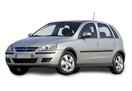Дефлектор на капот (Мухобойки) для Opel (Опель) Corsa C 2000-2007