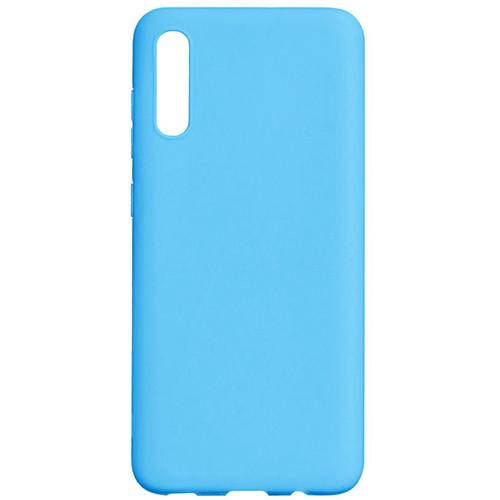 Силиконовый чехол TPU Case Samsung A705 Galaxy A70 Blue