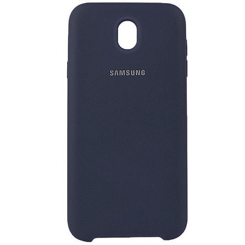 Чехол New Original Soft Case Samsung J730 Galaxy J7 2017 (08) Dark  Blue