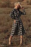 Сукня сорочка в клітку, фото 3