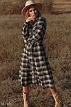 Сукня сорочка в клітку, фото 4