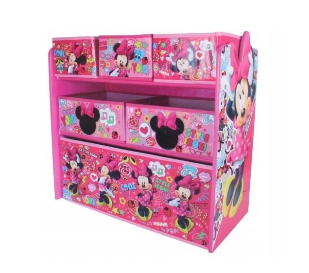 Органайзер для игрушек Disney Minnie Mousе контейнер