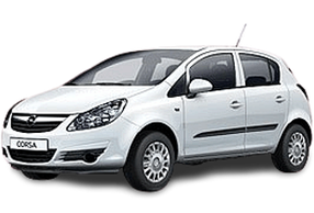 Дефлектор на капот (Мухобойки) для Opel (Опель) Corsa D 2006-2014