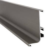 Профиль GOLA горизонтальный Ferro Fiori, L = 4100 мм, type L никель браш