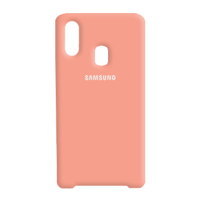 Чехол Original Soft Case Samsung A405 Galaxy A40 Pink (12)