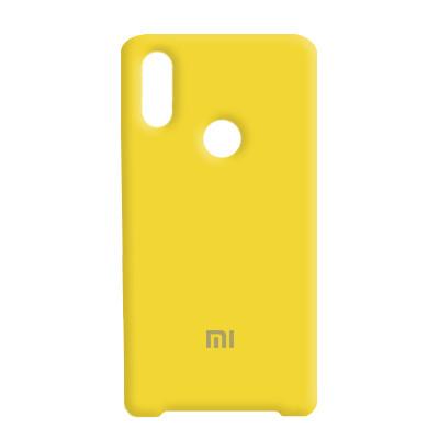 Чехол Original Soft Case Xiaomi Redmi Mi Play Yellow (4)