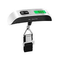 Весы электронные багажные дорожные для багажа до 50кг безмен кантер, фото 1