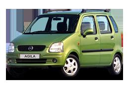 Дефлектор на капот (Мухобойки) для Opel (Опель) Agila A 2000-2007