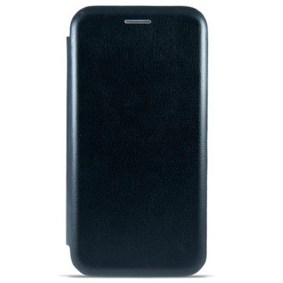 Чехол-книжка Premium Leather Huawei P Smart 2019 (POT-LX1) -  Чёрный