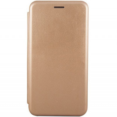 Чехол-книжка Premium Leather Huawei P30 Lite (MAR-LX1A)- Золотой